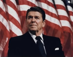 Ronald W. Reagan - Flag