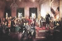 Signing of the United States Constitution