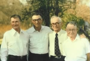 Doyle Pitts with his brothers 1989