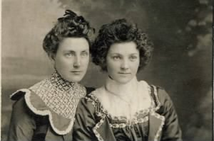 MAUDE AND BESSIE KIMBALL, Daughters of Bertha Jane Seeley Kimball