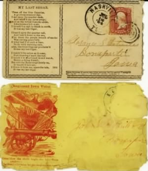 Detwiler Civil War Envelopes