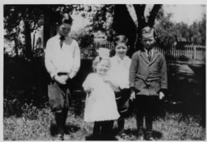 Alvin, Eloise, Harold, and Kenneth Minor