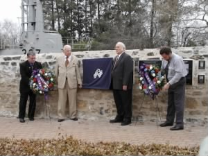 Unveiling of LCI (G)-449 Memorial Plaque