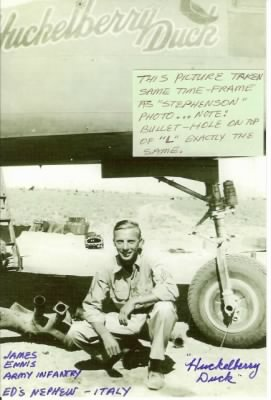 James E Ennis, Army Infantry, Africa, 1943