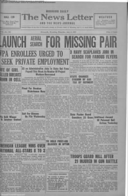 1937-Jul-8 News Letter Journal, Page 1