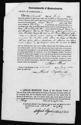 Isaac Buck's Revolutionary War Pension File - page 7