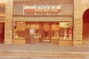 Soapes Dept. Store, 1975