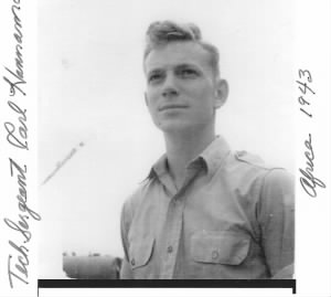 Carl D Hannemann, 321st Bomb Group, 447th Bomb Squad MTO/WW II