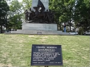 Virginia Memorial to her brave soldiers
