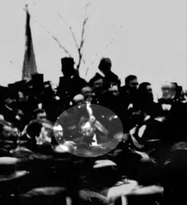 Lincoln on the day of the Gettysburg Address