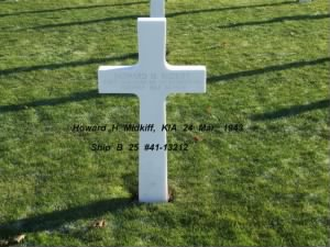 Howard H Midkiff, KIA 24 March, 1943, 321stBG,446thBS, MTO
