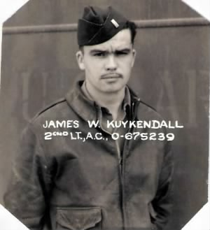"Lt James Wm. ""Bill"" Kuykendall, Pilot, 321st BG, 448th BS"