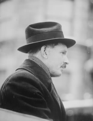 Alvin C York after WWI