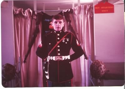 Marine who escorted Bob's body home; kept in touch with my parents until my dad died.JPG - Fold3.com