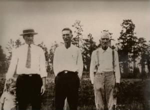 Four Martin Generations about 1921