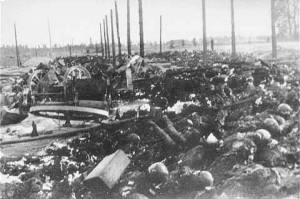 Charred remains of victims murdered at Maly Trostinets.jpg