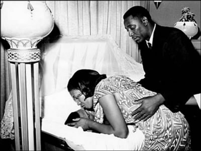 Picture of funeral service for Medgar Evers - Fold3.com
