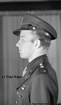 Lt Frederic C Ritger, B-25 /MTO, 58 Combat missions
