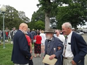 R. E. Lee Portrayer and Reenactor - Bob Moates arrives for Confederate Memorial Day