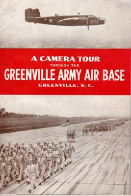 S/Sgt Joe B Morris got his Training here, Greenville AAB, S.C.