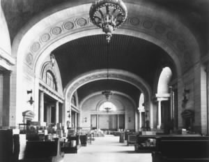 Interior of Michigan Central Station