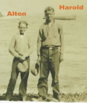 Alton and Harold Wotton