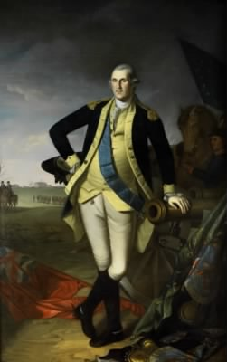 George Washington at Princeton, by Charles Willson Peale