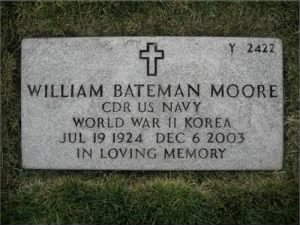 William Bateman Moore - Headstone