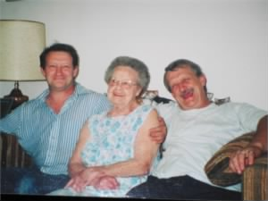 Charles T, Eleanor (mother) and Charles Henry (father) Carty