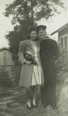 Charles & Charlotte Laycock, Hollwood,FL. 1944