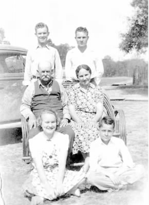 James S. Hill and family