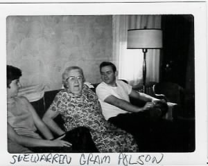Grandmom Polson and Wayne Springer