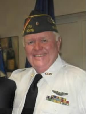 "Claron's son ""Roger Luedtke"" Commander of the VFW Rotonda West, FLA Post 10476"
