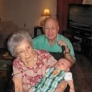 "Ret Col A A ""Bud"" West with his wife Betty West ""Sweetie"" 1923-2010"