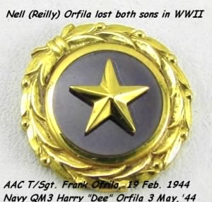 Mrs Nell Orfila lost both SONS in WWII