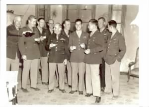 1st Doolittle Raider Reunion at a farmhouse in N. Africa, 1943