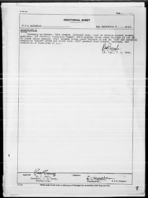 "War Diary, 9/1-30/43 (Act Rep, ""AVALANCHE"") › Page 8 - Fold3.com"