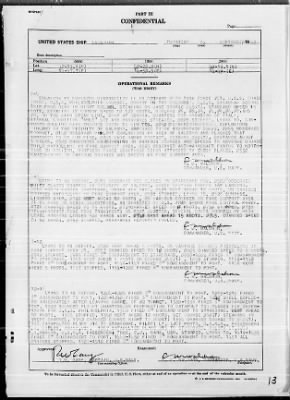 """War Diary, 9/1-30/43 (Act Rep, """"AVALANCHE"""") › Page 13 - Fold3.com"""