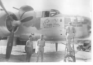 Fred Lawrence, B-25 Mitchell Crew Chief, Corsica