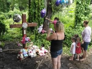 A memorial for Caylee