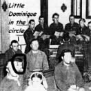 Little Dominique in 1944 at CHURCH on Corsica