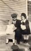 Rita, Fred(Father), Margaret in their Sunday best