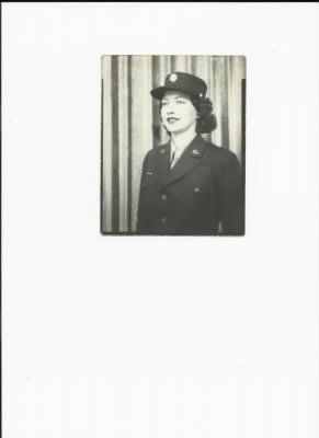 Pfc. Mildred C. Calvin