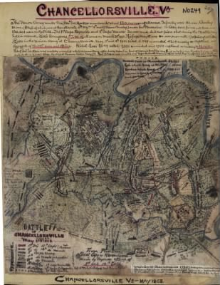 Battle of Chancellorsville, Virginia, May 2nd & 3rd 1863. - Page 1