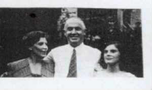 Kathryn Osgood Holmes and her parents, Mary Herbert and William Heberling Holmes