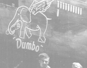 "Lt Lyle Edwards Shot-Down in ""DUMBO"" #42-32498 on 28 March, 1944"
