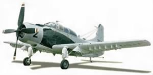 Douglas A1-E Skyraider, Close Combat Support/Vietman