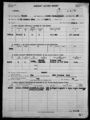 VPB 102 ACA Form Rep #8 & VPB 116 ACA Form Reps Nos 26-29 - Rep of Ops Against Enemy Shipping & Aircraft in the Bonin Is, 10/10-12/44 › Page 21 - Fold3.com