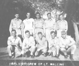 Walling B-29 aircrew