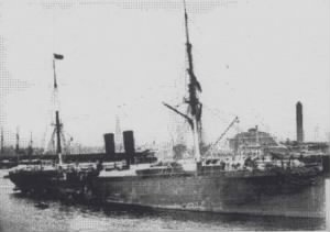 Sailing Steam Ship (SS) Waesland